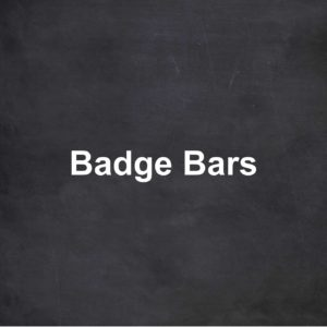 Badge Bars