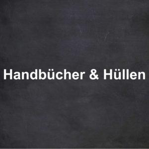 Handbücher & Hüllen