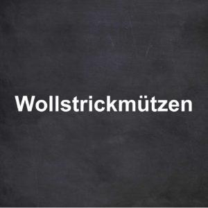 Wollstrickmützen