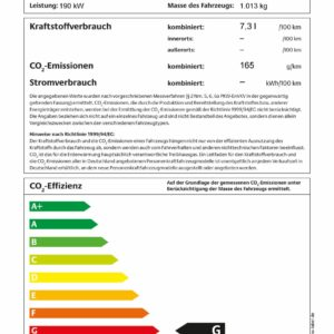 Pkw-Label Plus Four Schaltgetriebe